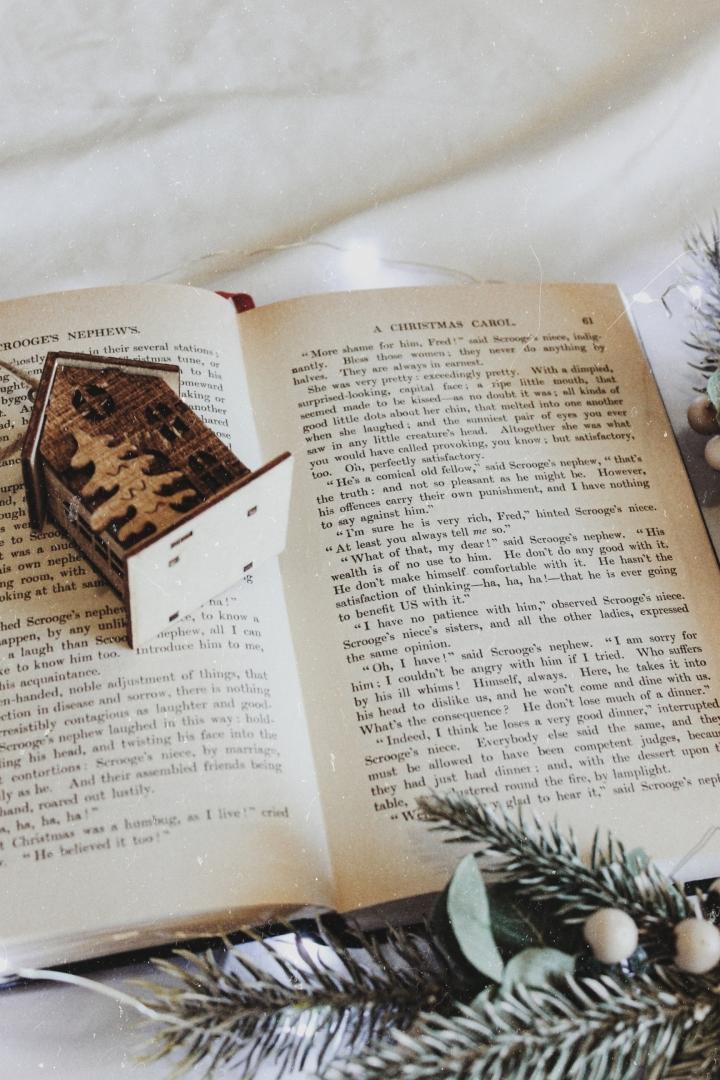 Five Christmas Books to Make YouHappy